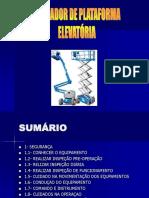 APOSTILA PLATAFORMA ELEVATÓRIA
