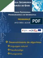 UFCD 0804 6 Fluxogramas