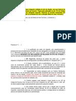 GERAL - Pedido Incidental - Nulidade de Citaçao - A.R. Recebido Por Terceiro