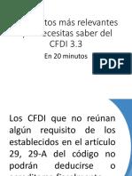 Lo Que Necesitas Saber Del CFDI 33
