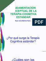 Fundamentación Conceptual de La Terapia Cognitiva Estandar - Personalidad