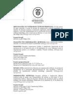 IMPUGNACIÓN DE PATERNIDAD EXTRAMATRIMONIAL
