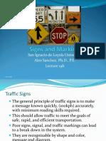 Lecture 20a Signalization