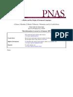 Colin Renfrew - Genetics and the Origin of Indo-European Languages (2007) (6 Pgs)