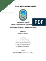 Monografia de Centrales Termicas