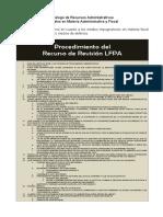 Catálogo de Recursos Administrativos Federales en Materia Administrativa y Fiscal