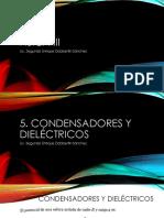 Tema 05 Condensadores y Dielectricos