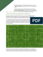 9 Reglas Del Futbol