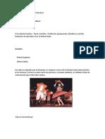Clasificación de Las Danzas Peruanas