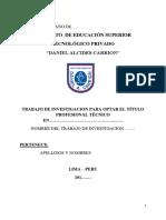 Modelo y Estructura Del Proy-tecnologico
