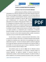 Trabajo Final Análisis de La Política de La Calidad Educativa en México
