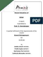 Airtel Brand Valuation