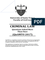 Quamto Criminal Law 2017