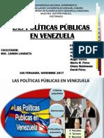 Ponencia Sobre Las Politicas Publicas (1)