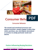 2.1 Consumer Behavior
