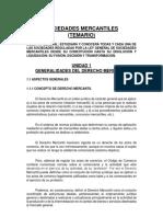 4. Sociedades Mercantiles - Temario