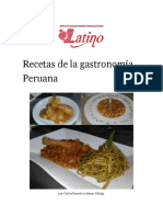 Recetas de La Gastronomía
