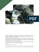Sistema de Fortificación Asegura a Los Equipos y a Los Trabajadores de La Minería Subterránea