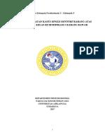 Rencana Perawatan Single Denture Dan Kasus Kennedy Kelas III Modifikasi 1