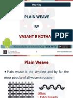 14 Plain Weave
