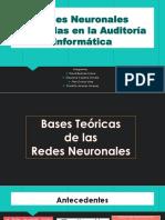 Redes Neuronales Aplicadas en La Auditoría Informática