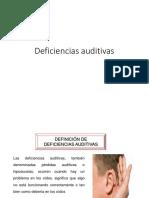 Expo Deficiencias Auditivas