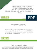 Prospección Geológica de Las Diferente Unidades y Estructuras Hugo Maria Laura