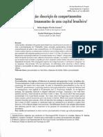 Procrastinação Descrição de Comportamentos de Estudantes e Transeuntes de Uma Capital Brasileira
