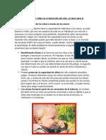 Como Influye El Olfato en El Desarrollo Del Niño