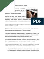 Musicoterapia Para Niños Con Sordera