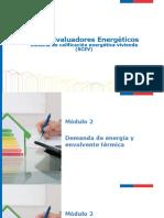 2 Demanda de Energía y Envolvente Termica CEV