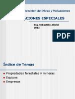 131157938 Valuaciones Especiales Propiedades Forestales Mineras Equipos