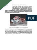 Accidentes y Eventos  ocurridos en el Transporté de Explosivos en Carretera.docx