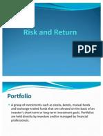Risk and Return Presentation