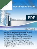 Pengantar Lean Hospital 11102016
