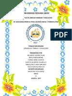 Jornada de Trabajo Vacacional Del Docente Eib