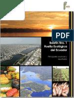 Boletin Nro. 1. Huella Ecologica 2017 Ojokoko