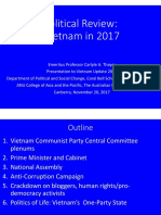 Thayer Political Review of Major Developments in  Vietnam in 2017