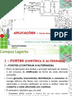 5 - Disp Eletrônico - IfBA - Aplicações Com DIODO1