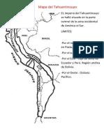 Mapa Del Tahuantinsuyo