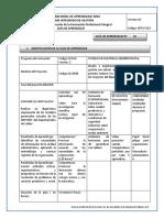 GFPI-F-019 Formato Guia de Aprendizaje Procesar la informacion