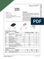 47N60 FCA MOSFET N-Channel.pdf