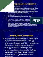 i. Memahami Komunikasi Bisnis