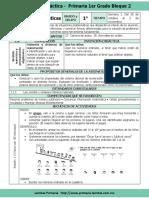 Plan 1er Grado - Bloque 2 Matemáticas (2017-2018)
