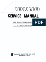 Furuno FS-1500/FS-1500P/FS-1501 User Manual