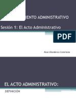 SESION 1 - Acto Administrativo - 01feb2017