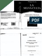 Descola 1996. La Selva Culta
