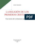 La Religion de Los Primeros Cristianos w16