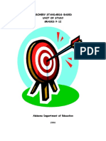Alabama Archery Unit Grades 9-12