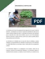 Capitulo 2 Generalidades de La Horticultura